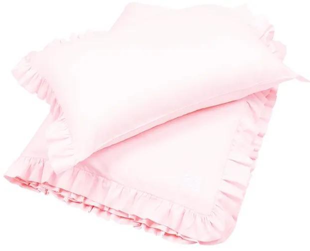 lovel.sk Posteľná bielizeň s volánikmi 100x135 Simply Glamour - Blush