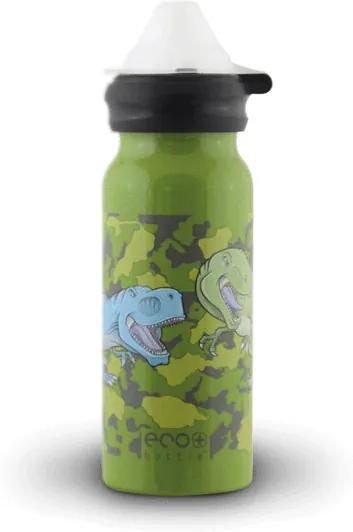 Fľaša Eco Bottle Kids Top Dinosaur 400ml