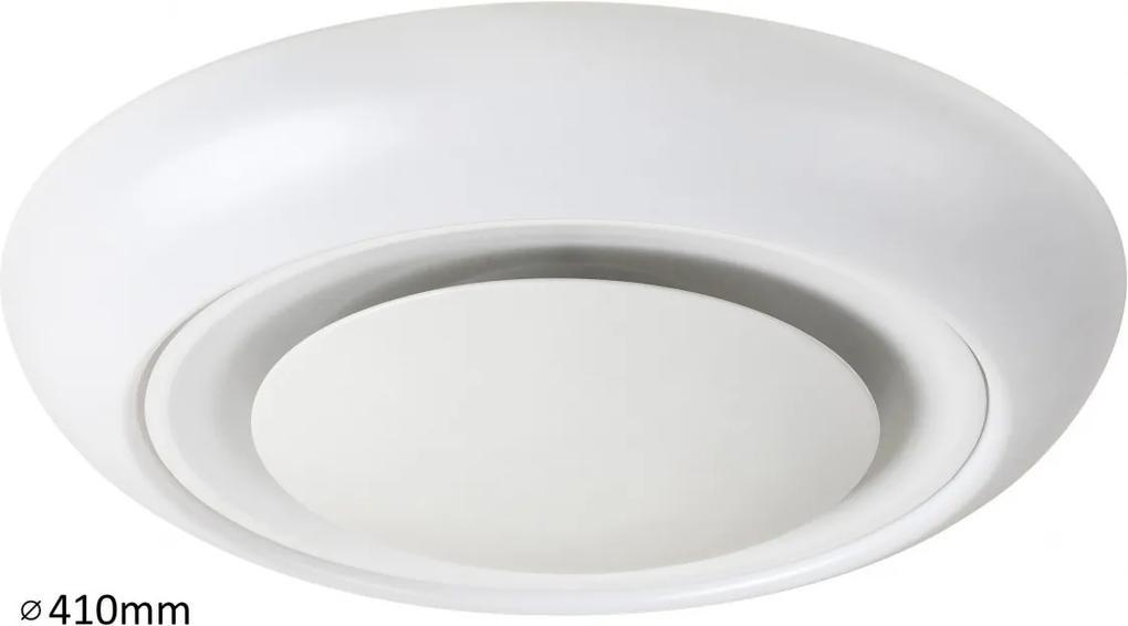 RABALUX 2492 Calvin stropné svietidlo RGB LED 18W biele