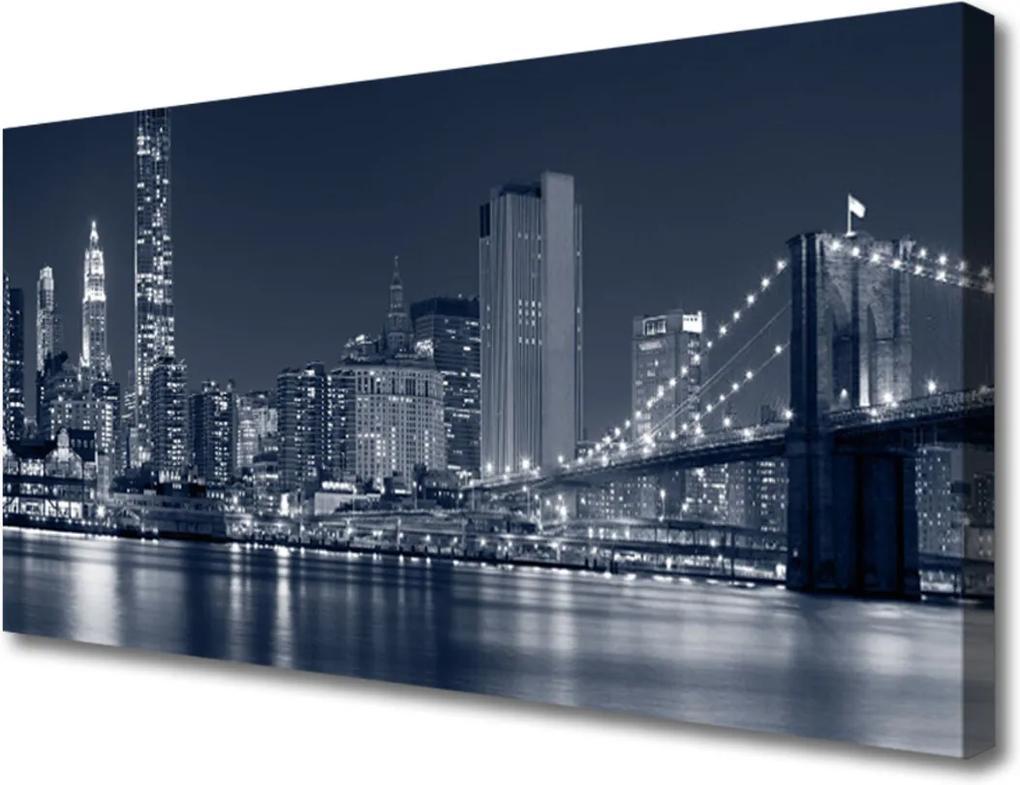 Obraz na plátně Mesto Most Architektúra