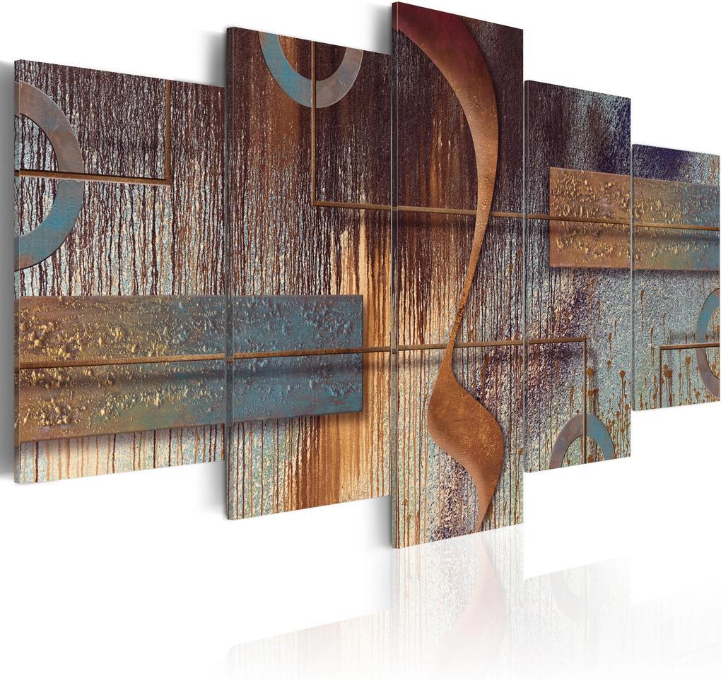 Obraz - Oriental Composition 100x50