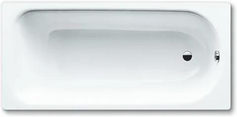 Obdĺžniková vaňa Kaldewei Saniform Plus 170x75 cm smaltovaná oceľ Perl-effekt alpská biela 112600013001