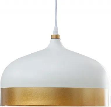 Závěsné světlo Reden 33 cm, bílá/zlatá Sin:37704 CULTY HOME +