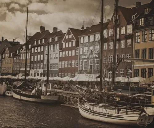 Luxusné vliesové fototapety, rozmer 325,5 cm x 270 cm, Copenhagen, P+S International CL47C