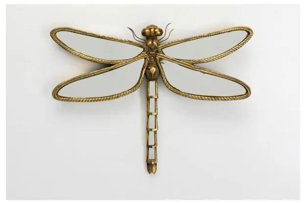 KARE DESIGN Nástenná dekorácia Dragonfly Zrkadlo Big