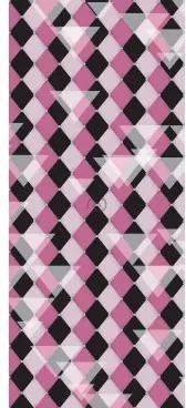 6459ee1e1 Dverová fototapeta - DV0379 - Šachovnicový vzor – ružový 91cm x 211cm -  Vliesová fototapeta