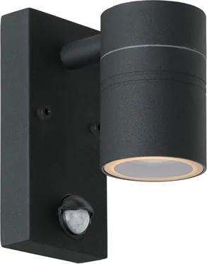 Lucide 14866/05/30 Exteriérové nástenné svietidlo ARNE-LED Wall Light +IR 1xGU10/5W 2700K čierne