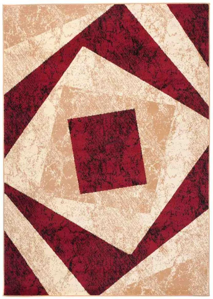 Kusový koberec PP Gil vínový, Velikosti 200x300cm