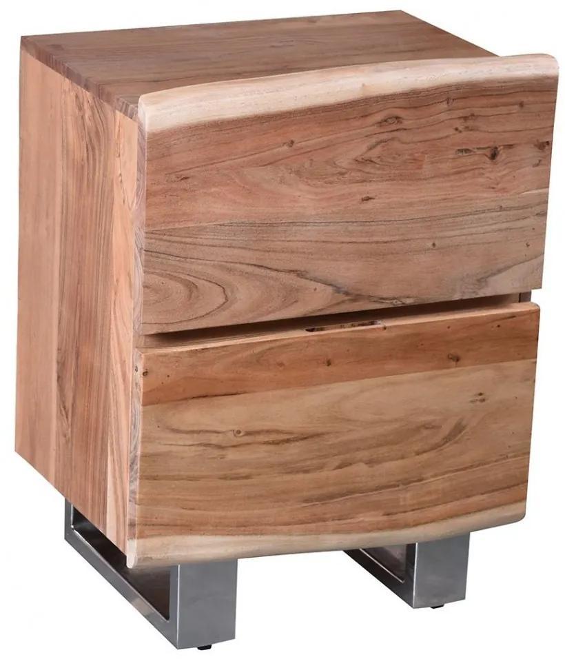 SIT MÖBEL Nočný stolík ALBERO 50 × 37 × 63 cm
