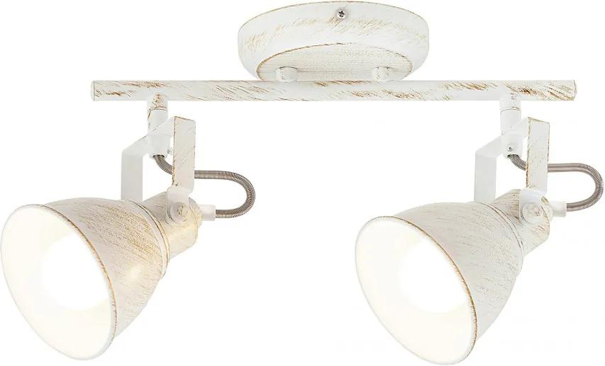 Rábalux Vivienne 5967 Stropné Svietidlá antická biela antická biela E14 2x MAX 40W 30 x 21 x 12 cm