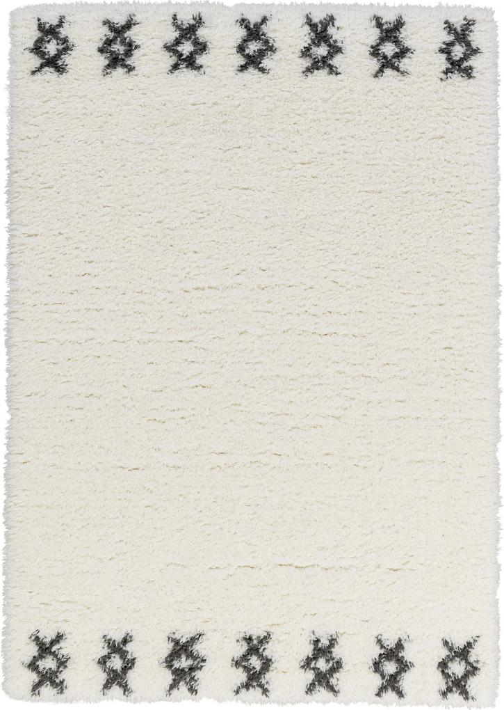 Astra - Golze koberce Kusový koberec Aversa 191000 Border Cream - 80x150 cm