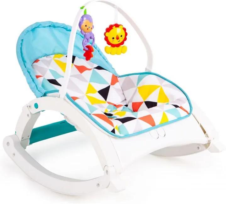 EcoToys Detské vibračné ležadlo 3v1, 88974