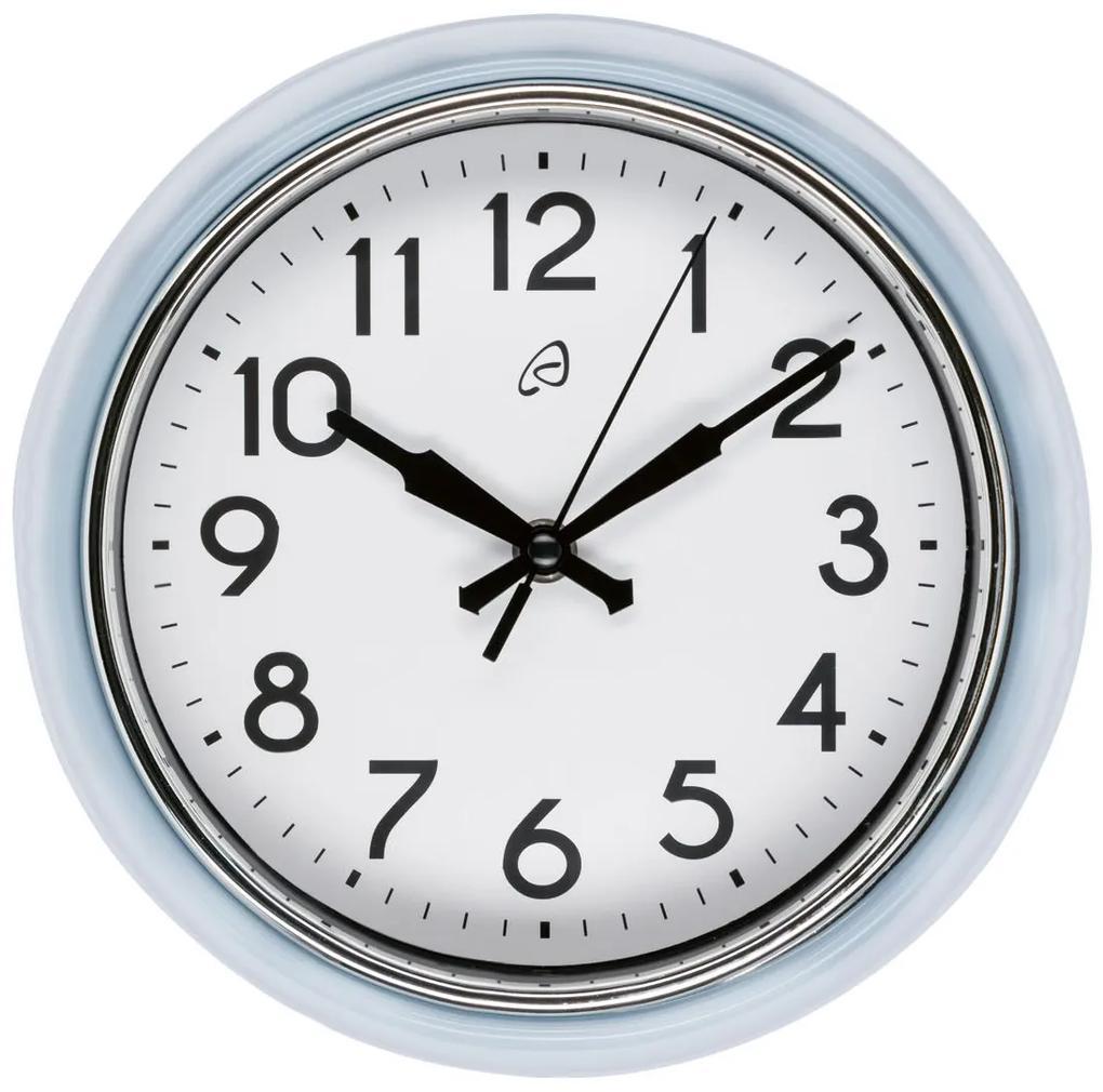 AURIOL® Retro nástenné hodiny (modrá), modrá (100309562)