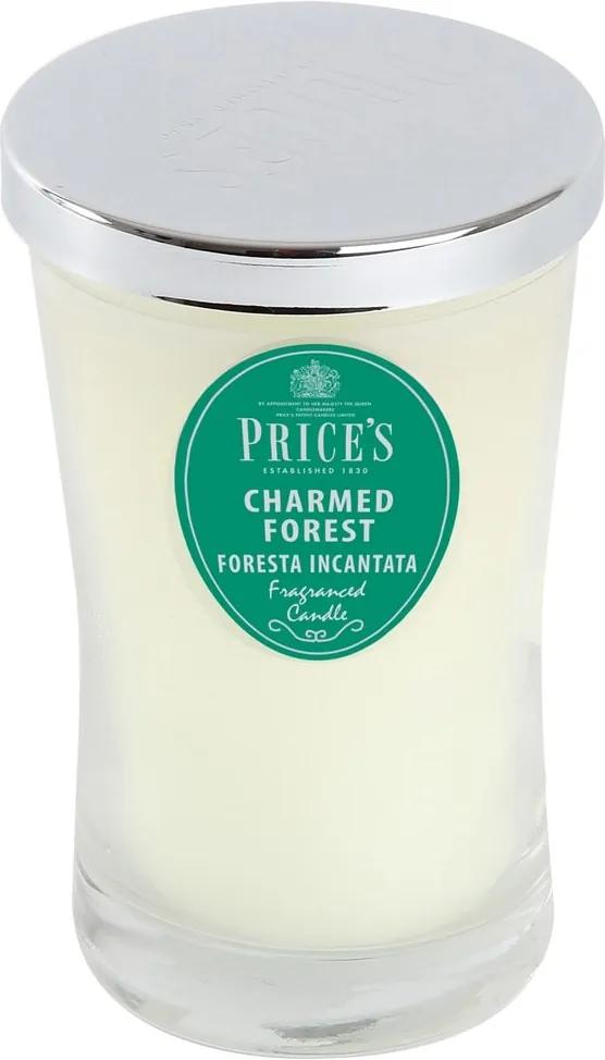 Price´s SIGNATURE vonná sviečka v skle Charmed Forest XL 615g