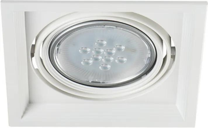 Kanlux Arto 26610 Zápustné Bodové Svetlá biely 1 x G53 max. 35W 4,3 x 18,6 x 18,6 cm