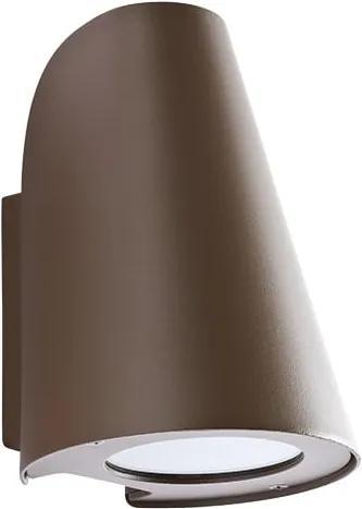 Vonkajšie nástenné svietidlo REDO ALVAR AP hnedá IP44 9530