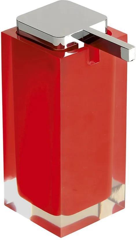 Rainbow RA8006 dávkovač mydla na postavenie, červený