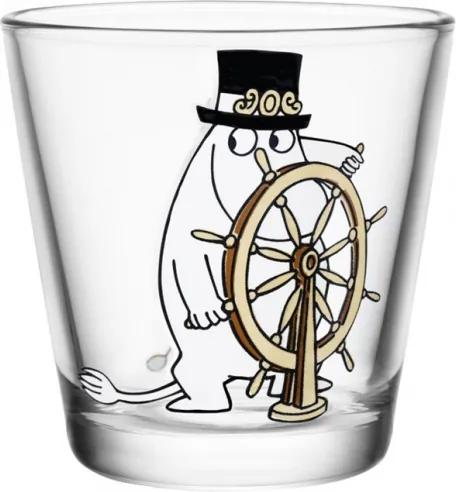 Pohár Moominpappa at helm 0,21l Iittala