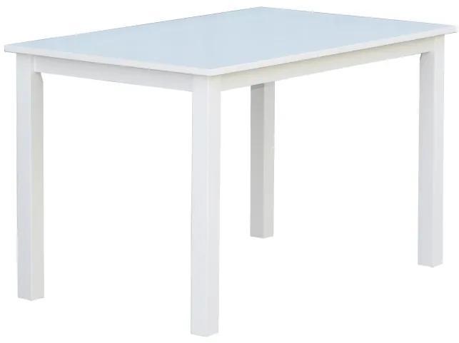 Backagard jedálenský stôl 120x75 cm biely
