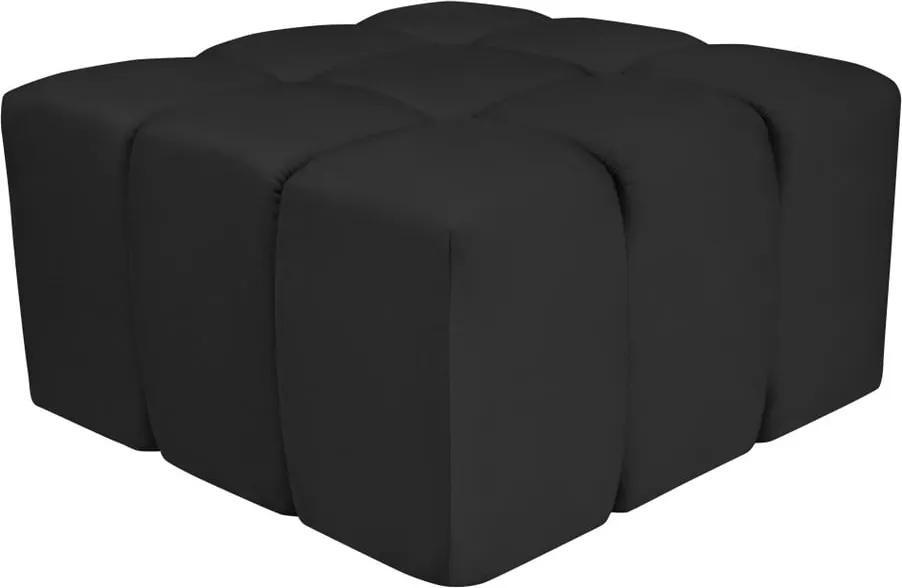 Čierna podnožka Mazzini Sofas Lotus