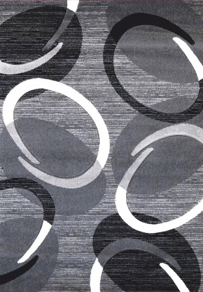 Spoltex koberce Liberec Kusový koberec Florida grey 9828 - 200x290 cm