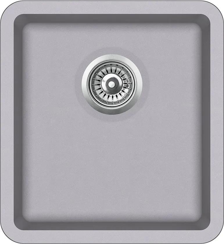 Granitový kuchynský drez - Aquastone NEO 45 hliníková