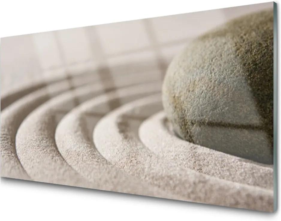 Skleněný obraz Kámen písek umění