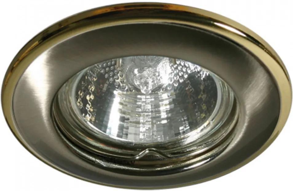 Kanlux Horn 2820 Zápustné Svietidlá do Sadrokartónu pozlatený 1 x MR-16 max. 50W 8,2 x 8,2 cm