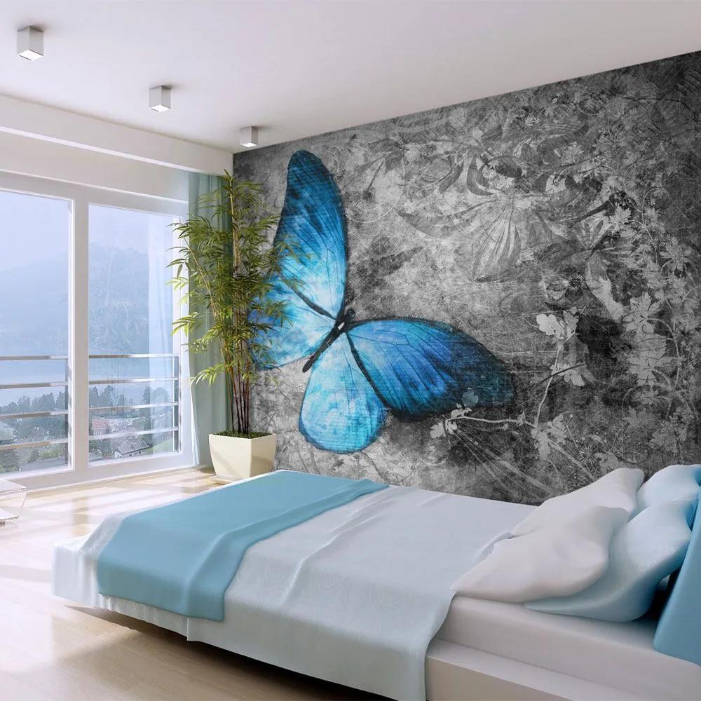 Fototapeta - Blue butterfly 200x154
