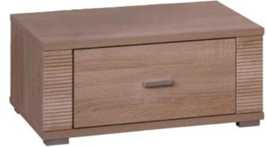 Nočný stolík typ 21, dub sonoma, GRAND