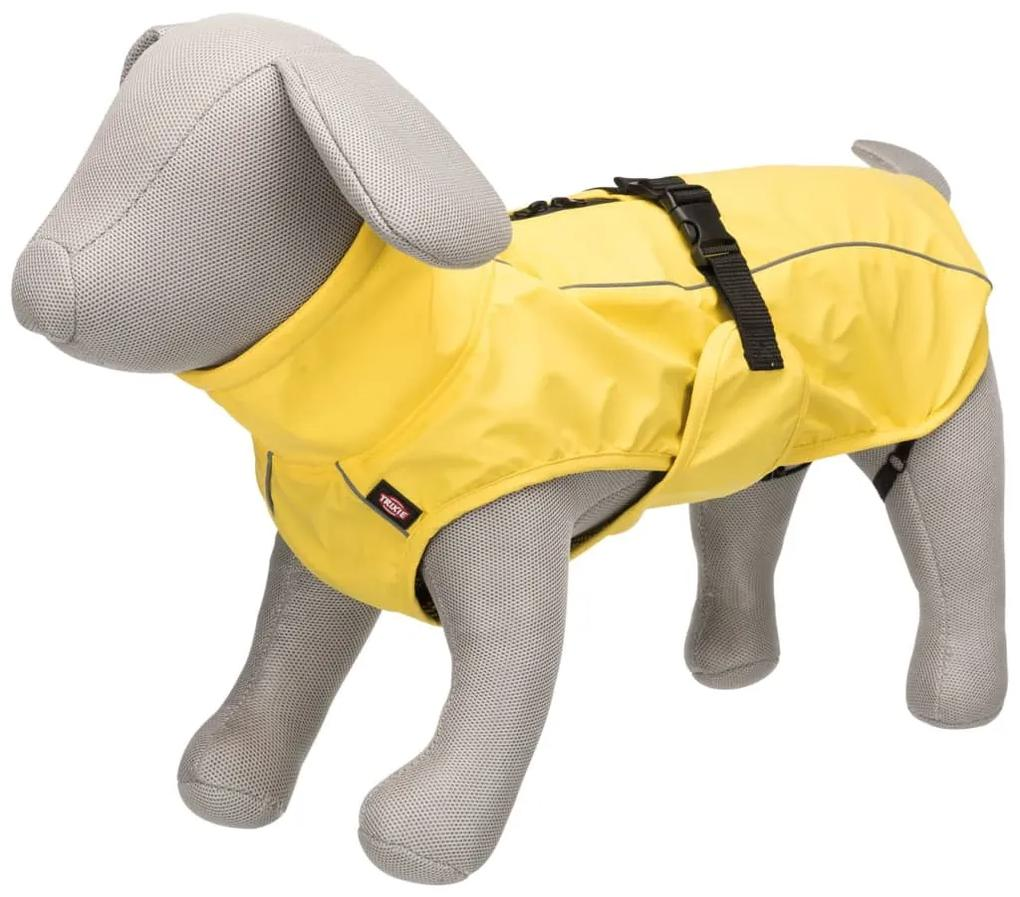 TRIXIE Pršiplášť pre psa Vimy M žltý 50 cm