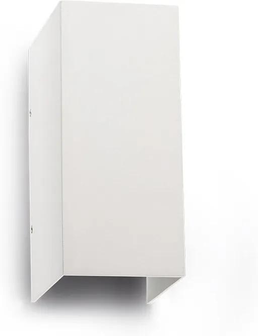Vonkajšie nástenné svietidlo REDO VARY biela IP54 LED 9137