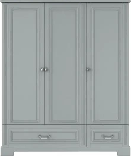 Skriňa Ines natural grey 3-dverová