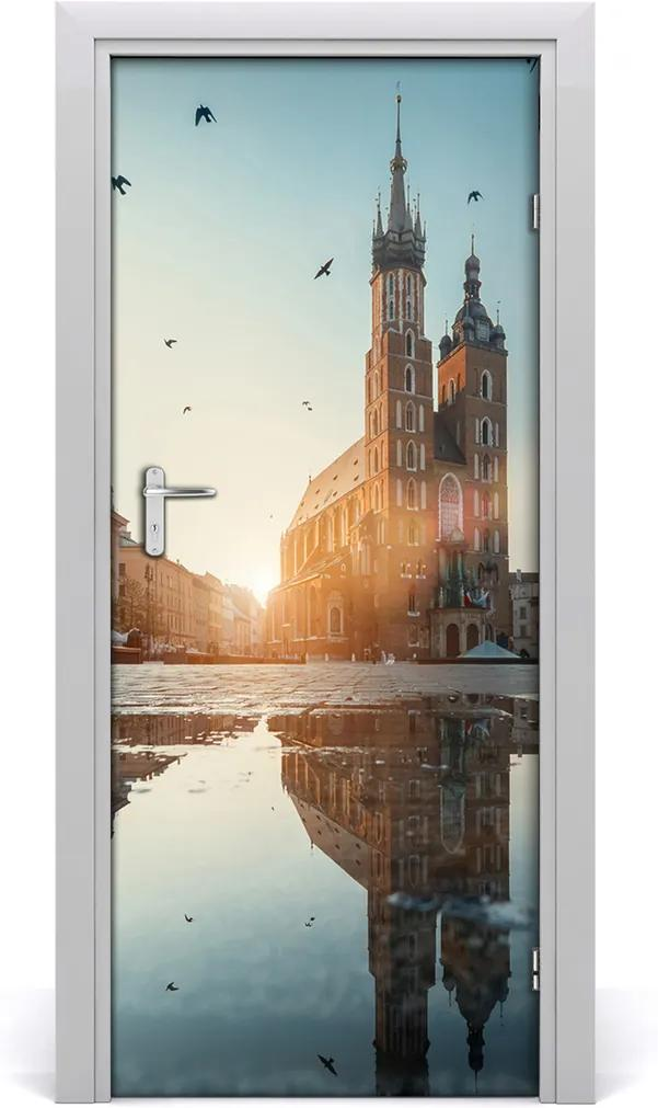 Fototapeta samolepící na dveře Krakov polsko