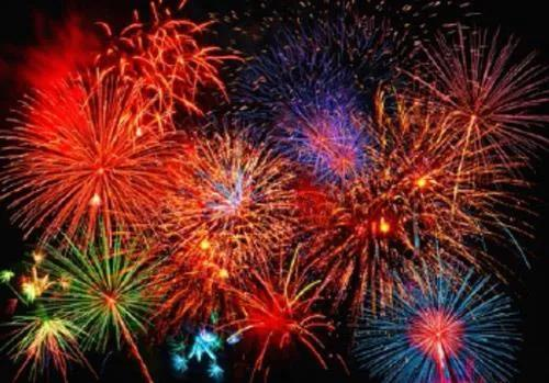 Fototapety, rozmer 366 x 254 cm, Fireworks, W+G 131