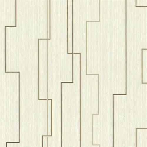 1d5bad591103d Vliesové tapety, moderné línie hnedé, Happiness 1332830, P+S International,  rozmer