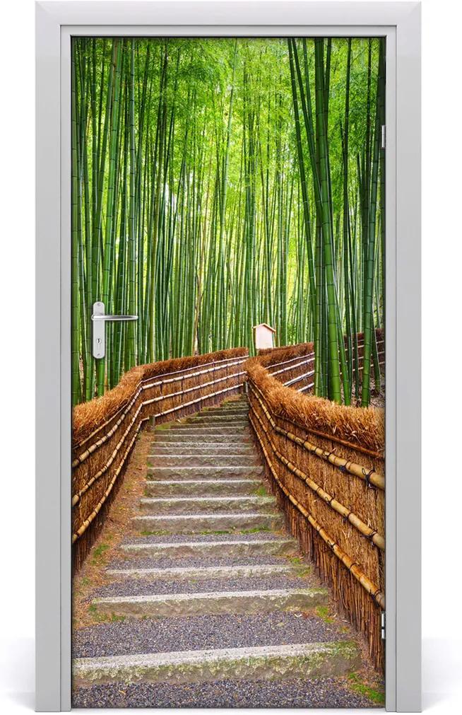 Fototapeta na dveře Bambusový les