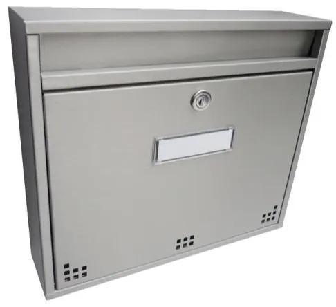 Nerezová poštová schránka DLS-H-012-R-N