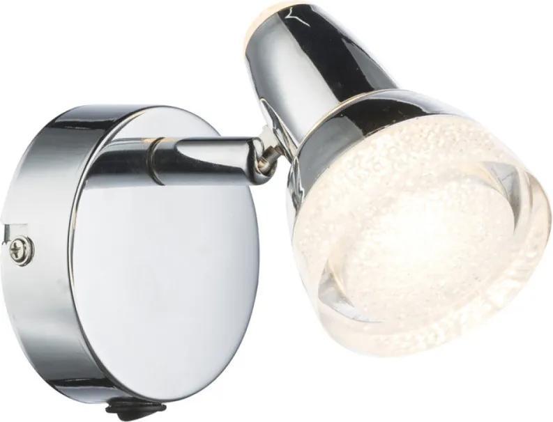 Globo 56134-1 Nástenné Lampy chróm biely LED - 1 x 4W 10,5 x 8 x 14 cm