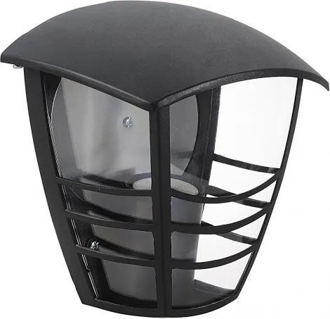 Rábalux 8570 Vonkajšie Nástenné Svietidlá čierny E27 1X MAX 60W 179 x 196 mm