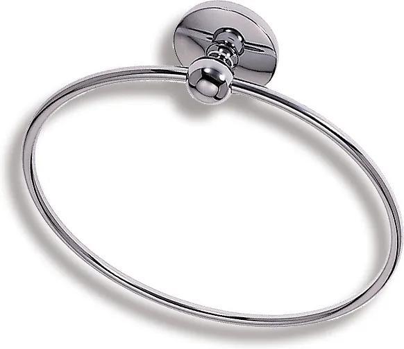 Novaservis Metalia 1 6101,0 kruhový držiak uterákov
