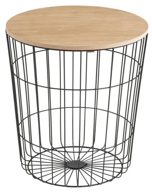 Odkladací stolík Actona Lotus Darko, ø 43 cm