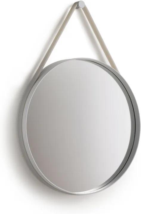 HAY Zrkadlo Strap Mirror 70 cm, grey