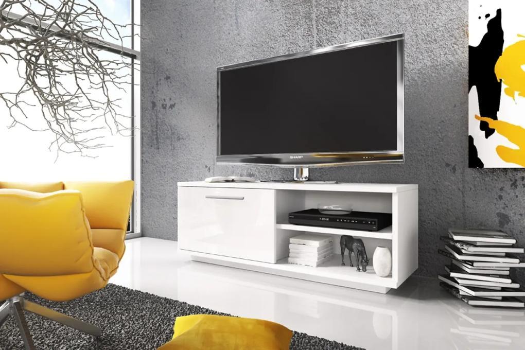 TV skrinka 3 biela