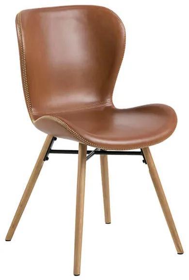 Batilda jedálenská stolička hnedá / dub