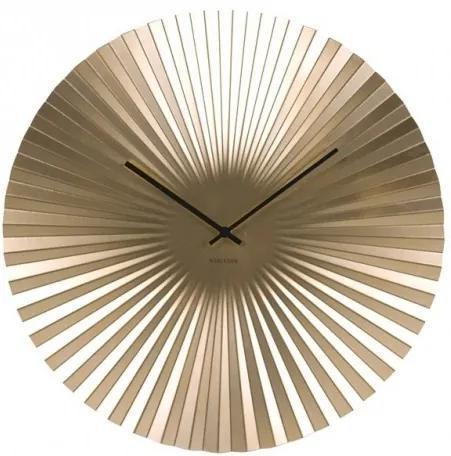 Hodiny SENSU zlaté,40 cm Present time SKU: KA5657GD