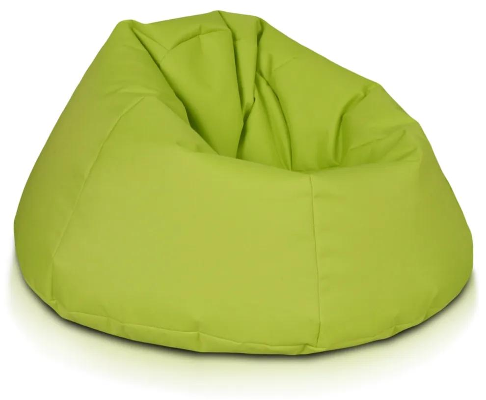 INTERMEDIC Sedací Vak MAXI Polyestér - NC01 - Zelená svetlá olivová (Polyester)