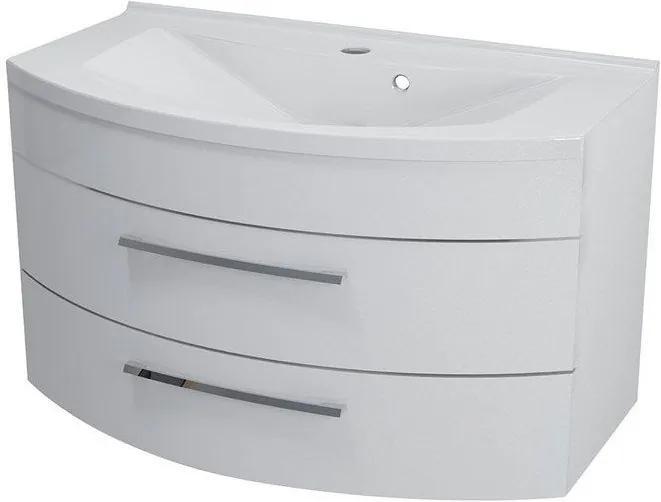 Julie 59905 umývadlová skrinka 90x50x50 cm, biela