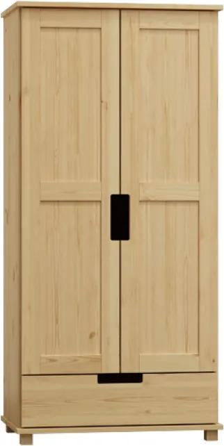 AMI nábytok Skříň Modern věšák/police olše 100 cm