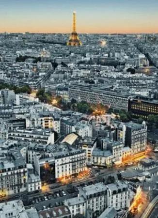 Fototapety, rozmer 183 x 254 cm, Paríž, W+G 434